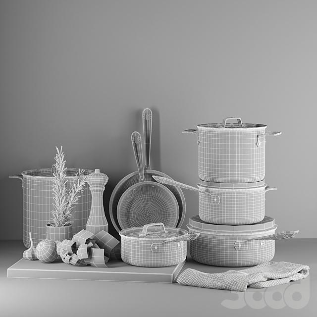 Набор Посуды All-Clad NS1