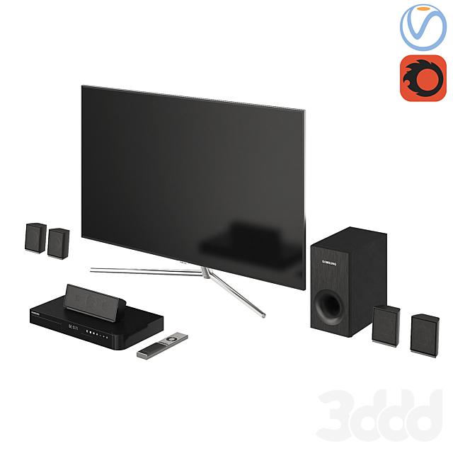 Samsung TV QLED  Home Сinema Blu-ray 2
