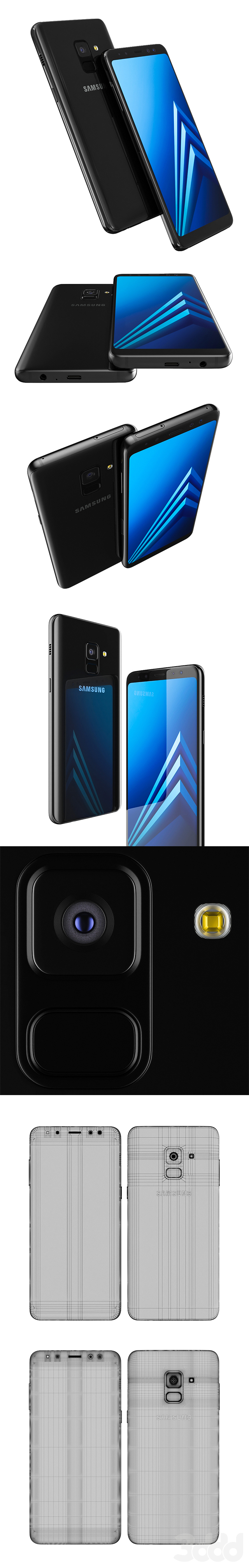 Samsung Galaxy A8 Black