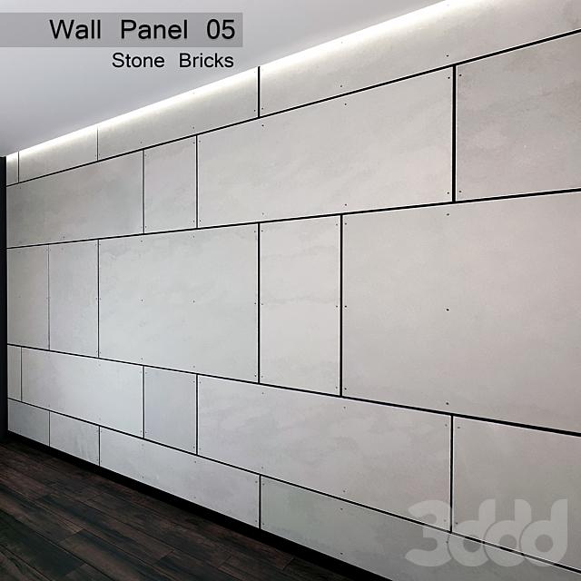 Wall Panel 05. Stone Bricks