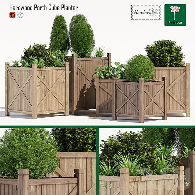 Porth cube planter
