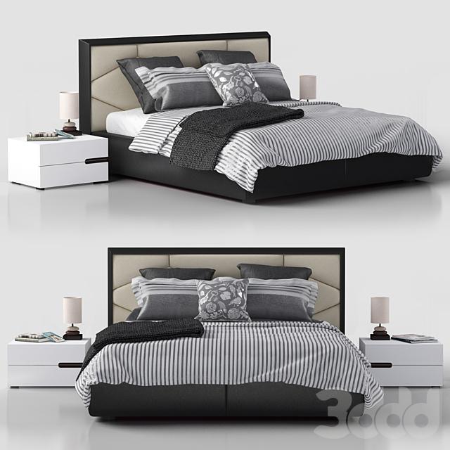 кровать Edward Cattelan Italia