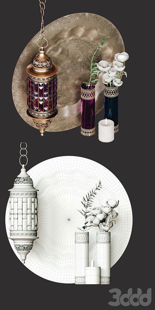 Декоративный набор в марокканском стиле