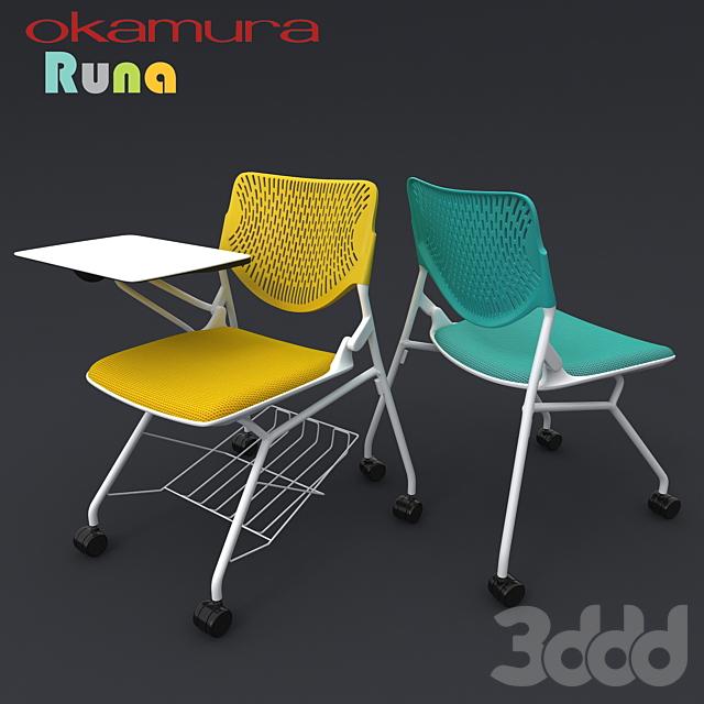 Офисные стулья Okamura Runa