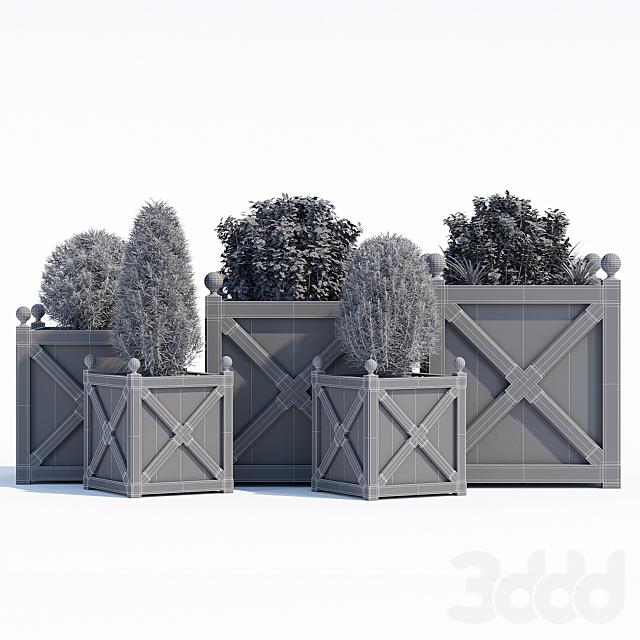 Cross planters