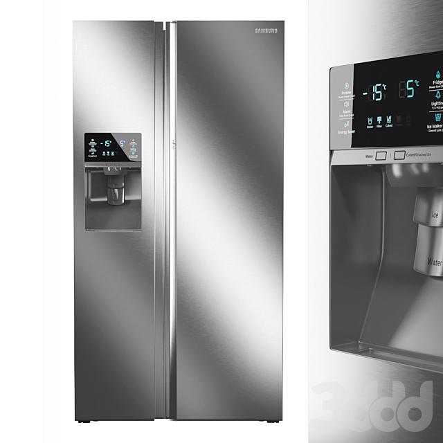 Холодильник Samsung Side-By-Side RH22H9010SR