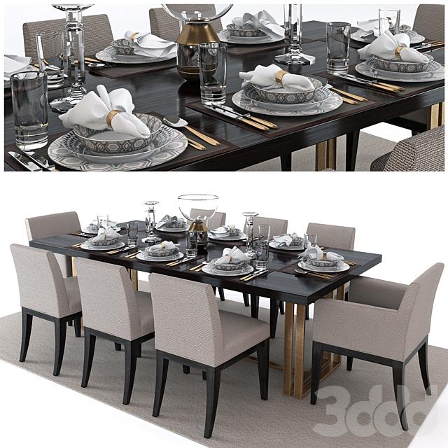 Set of furniture The Sofa & Chair Company (set2)