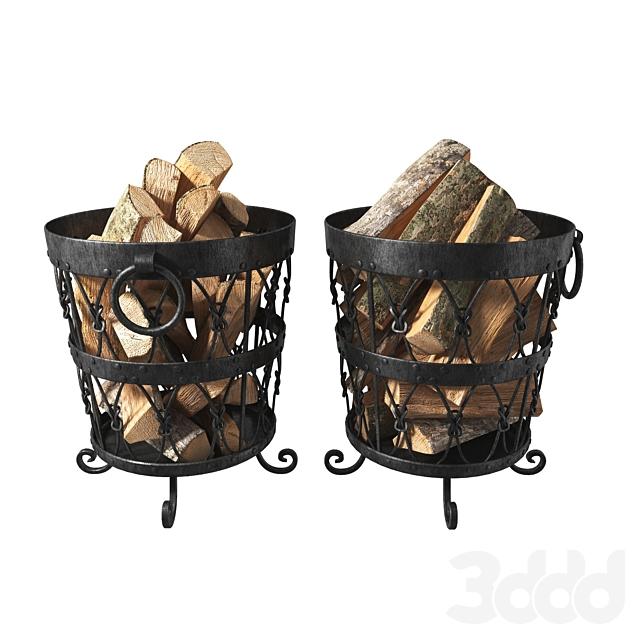 buket for firewood