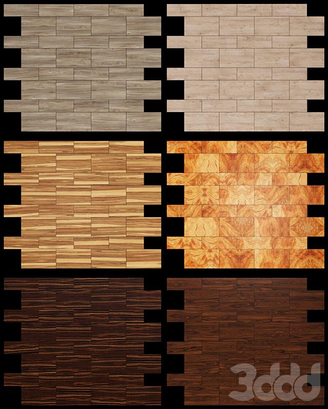 Акустические декоративные панели 6 видов, набор 14