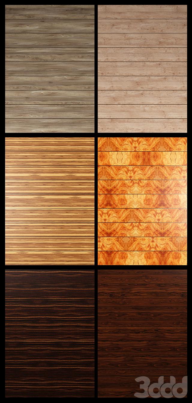 Акустические декоративные панели 6 видов, набор 23