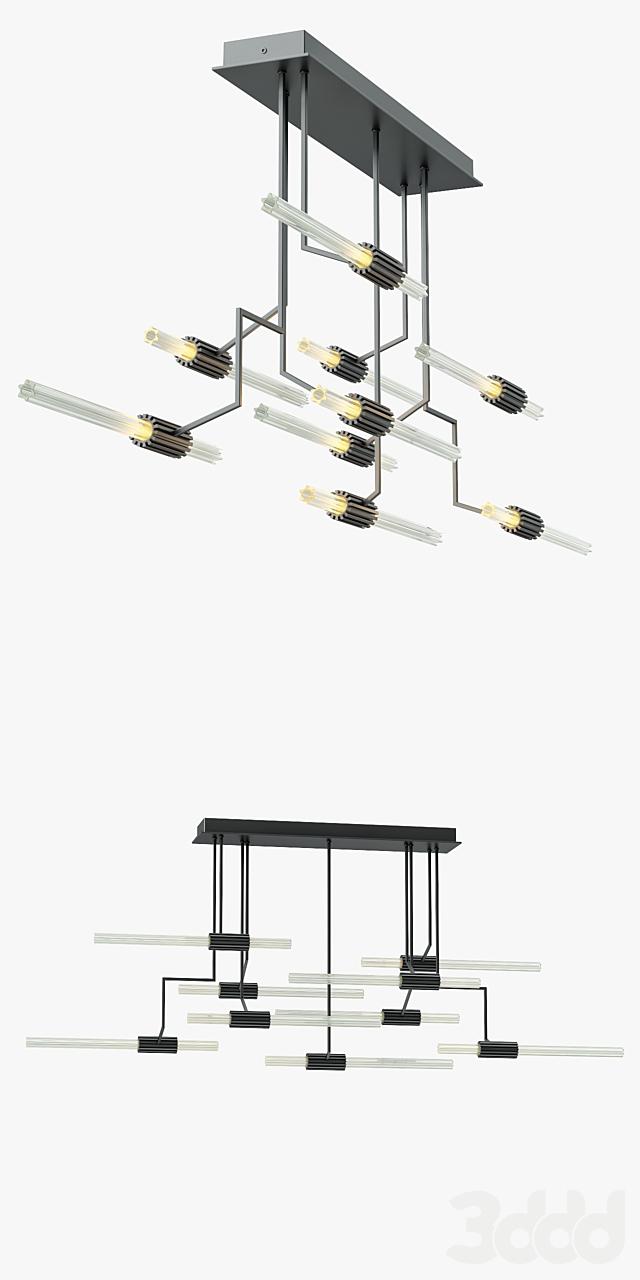 Wired Custom Lighting Luke Chandelier