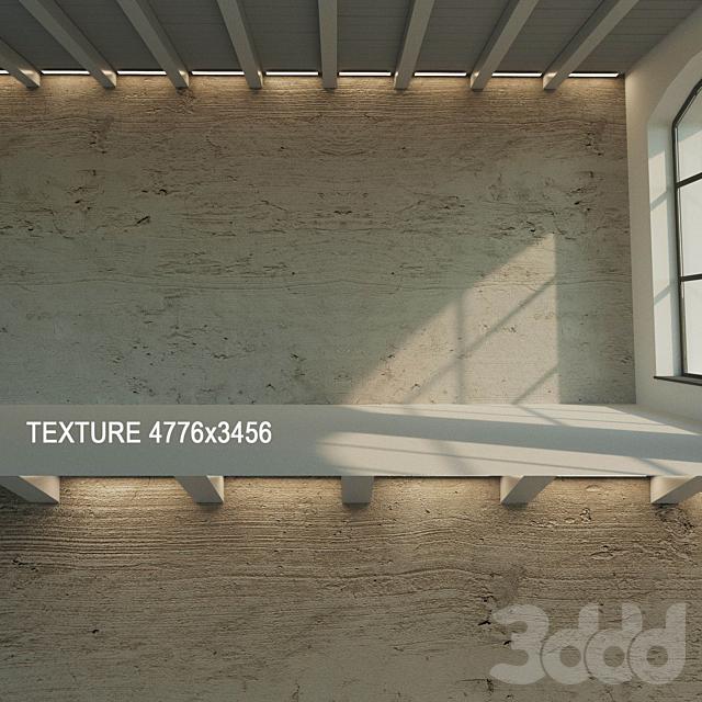 Бетонная стена (старый бетон) 4