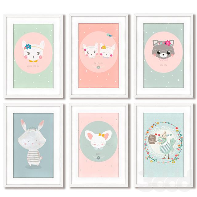 Постеры для оформления детской комнаты.