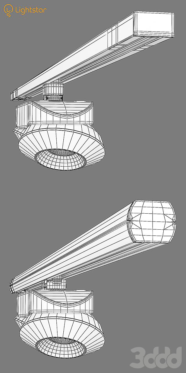 05122x Orbe Lightstar Track Light Sets