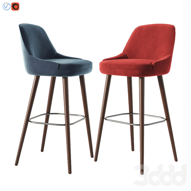 375 Walter Knoll Bar Stool & Counter Stool