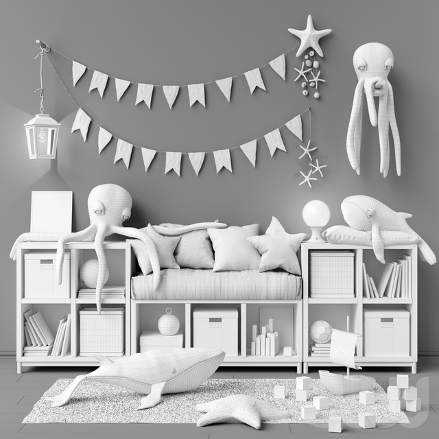 Toys and furniture set 26