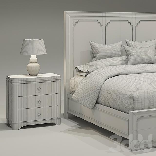 Hooker Modern Romance Bed