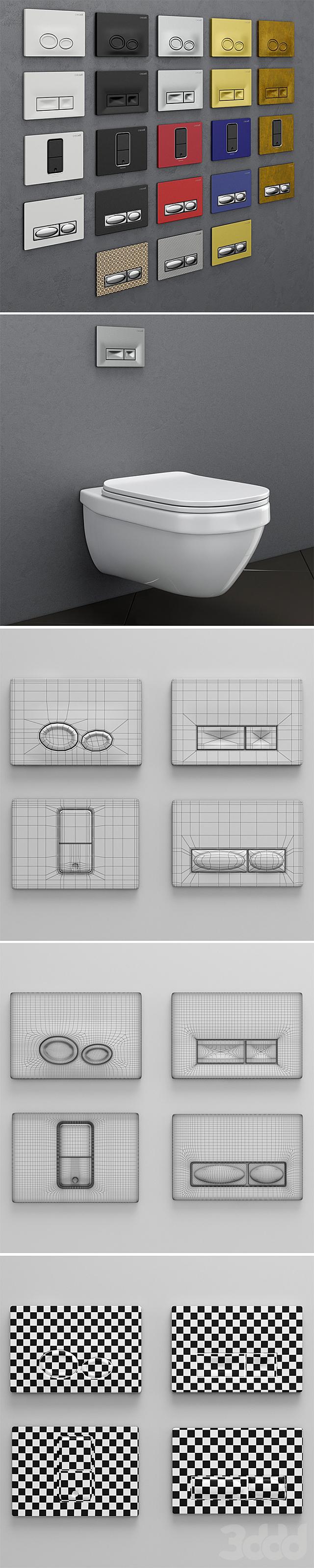 Набор кнопок для инсталляции Сreavit 2
