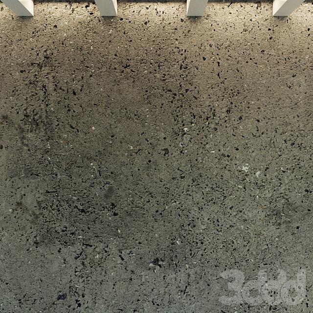Бетонная стена. Старый бетон. 39