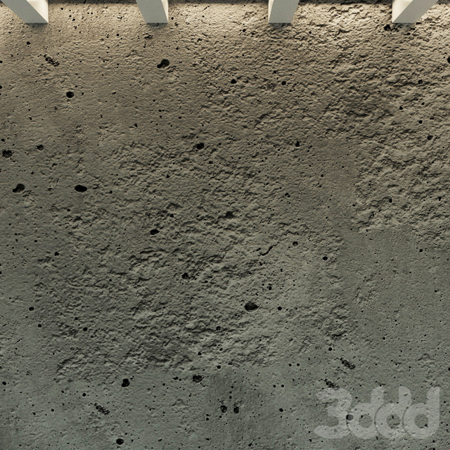 Бетонная стена. Старый бетон. 41