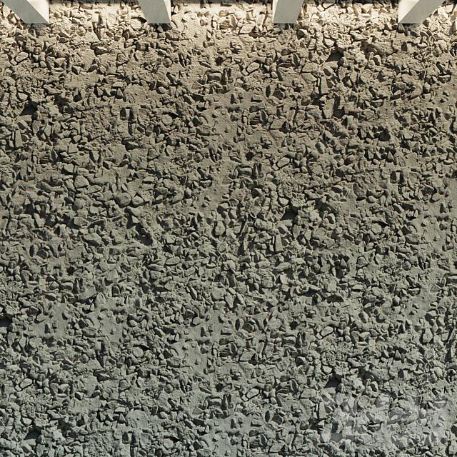 Бетонная стена. Старый бетон. 46