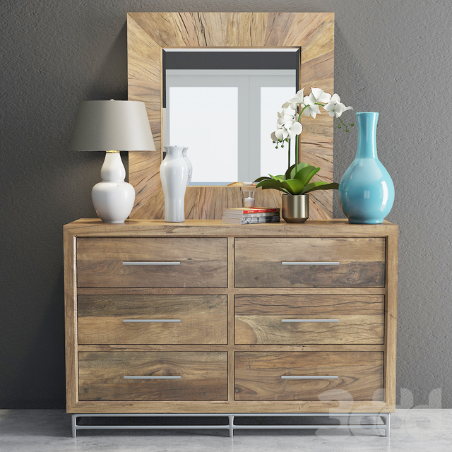 Hooker L'usine Dresser with Mirror