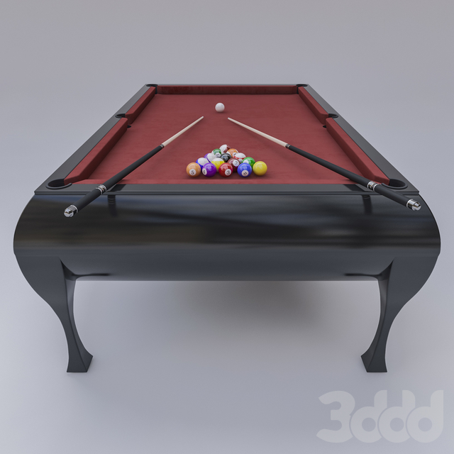 Classic pool table