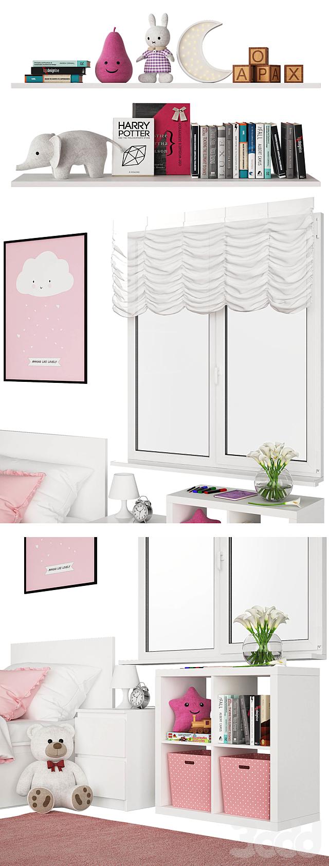 Universal children room Pink