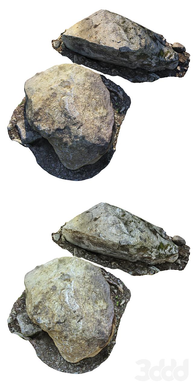 Большие камни
