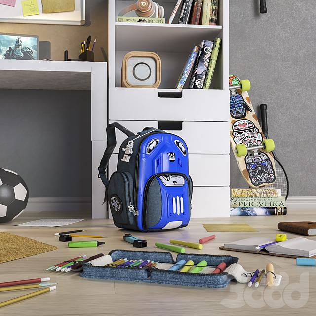 """Мебель и аксессуары для детской комнаты  """"Снова в школу """""""