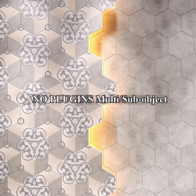 Плитка Vives Rift Hexagono Kunashir