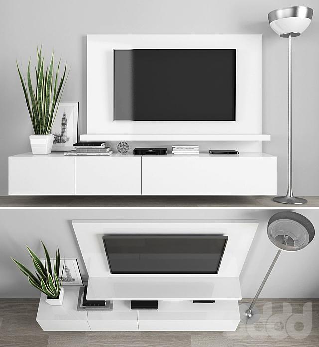 TV stand set 09