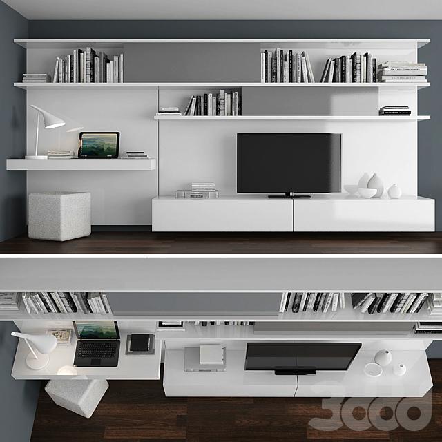 TV stand set 011