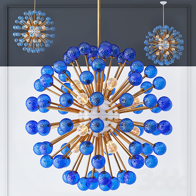 Люстра BLUE MURANO SPUTNIK DV5513