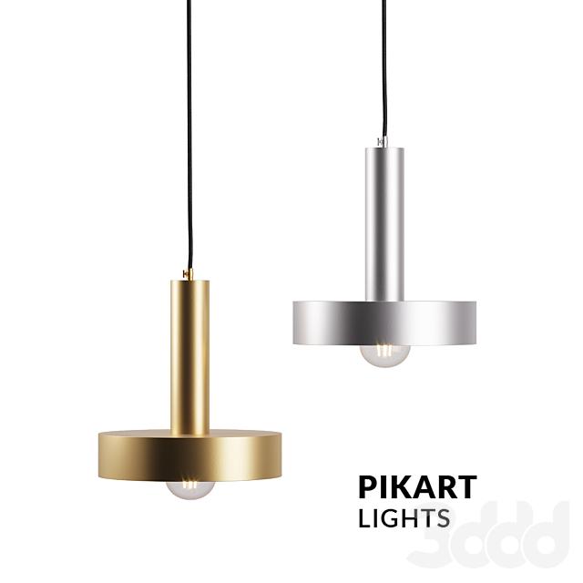 Steel lamp, art .5519