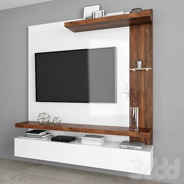 TV stand set 014