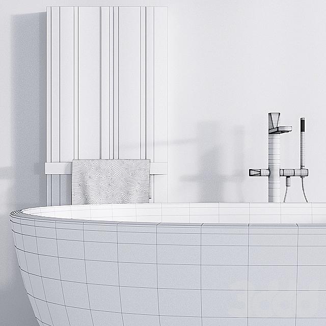 Antoniolupi ванна Reflex полотенцесушитель Bit