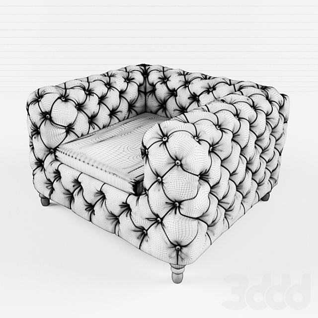 Cyan Design Tufty Club Chair