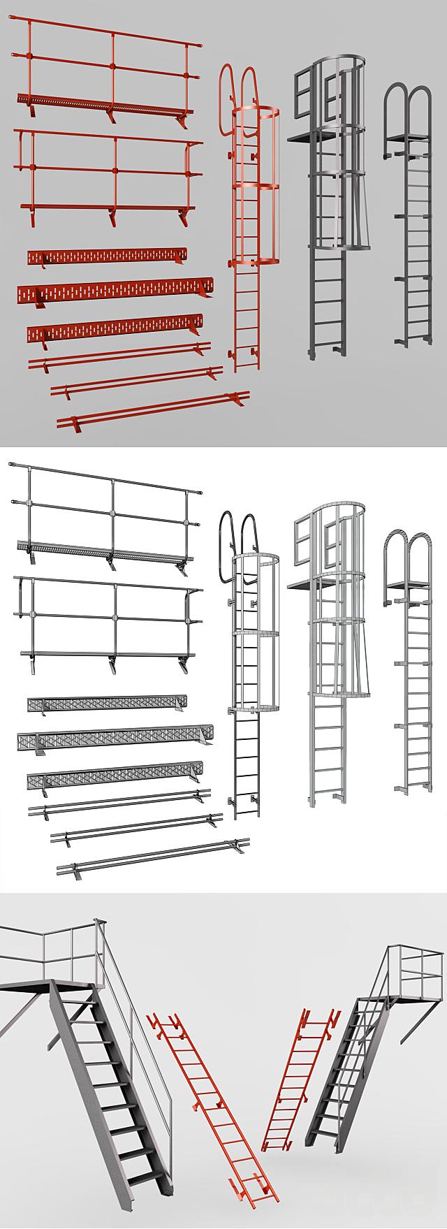 Элементы пожарной безопасности / Fire Safety Elements