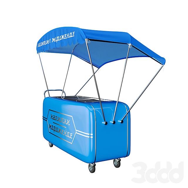 Торговая тележка (мороженое)