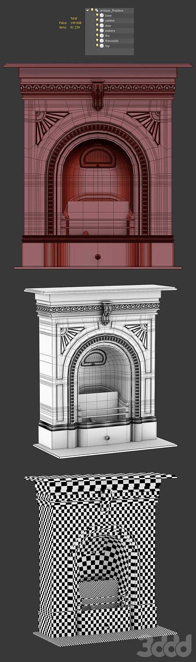Викторианский камин