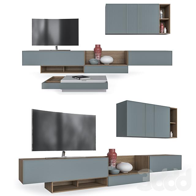 Мебель в гостиную Dandy Living серии Ikona, SANTALUCIA MOBILI