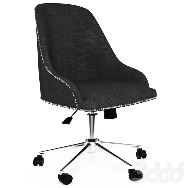 Boss Black Carnegie Desk Chair