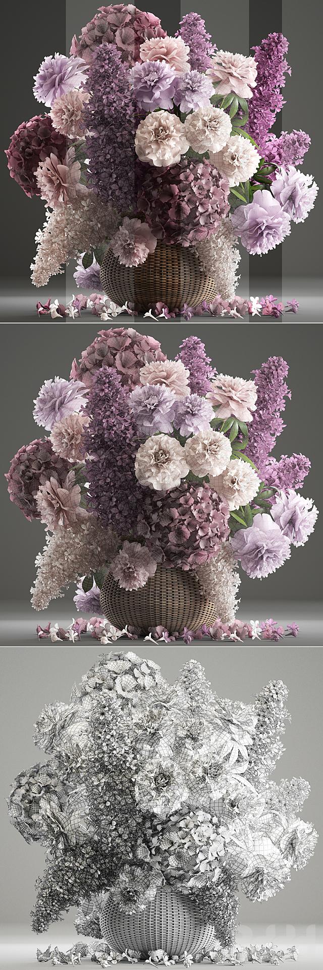 Букет цветов 83.