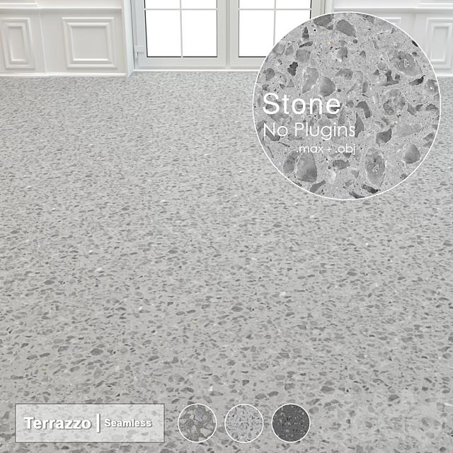 Seamless Terrazzo Stone 004