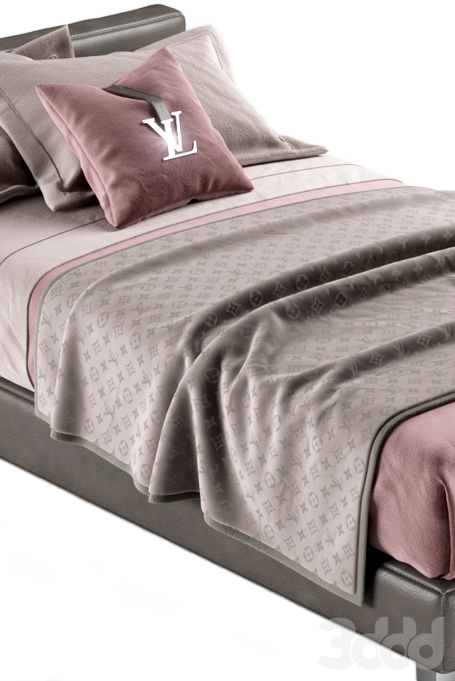 LOUIS VUITTON bed