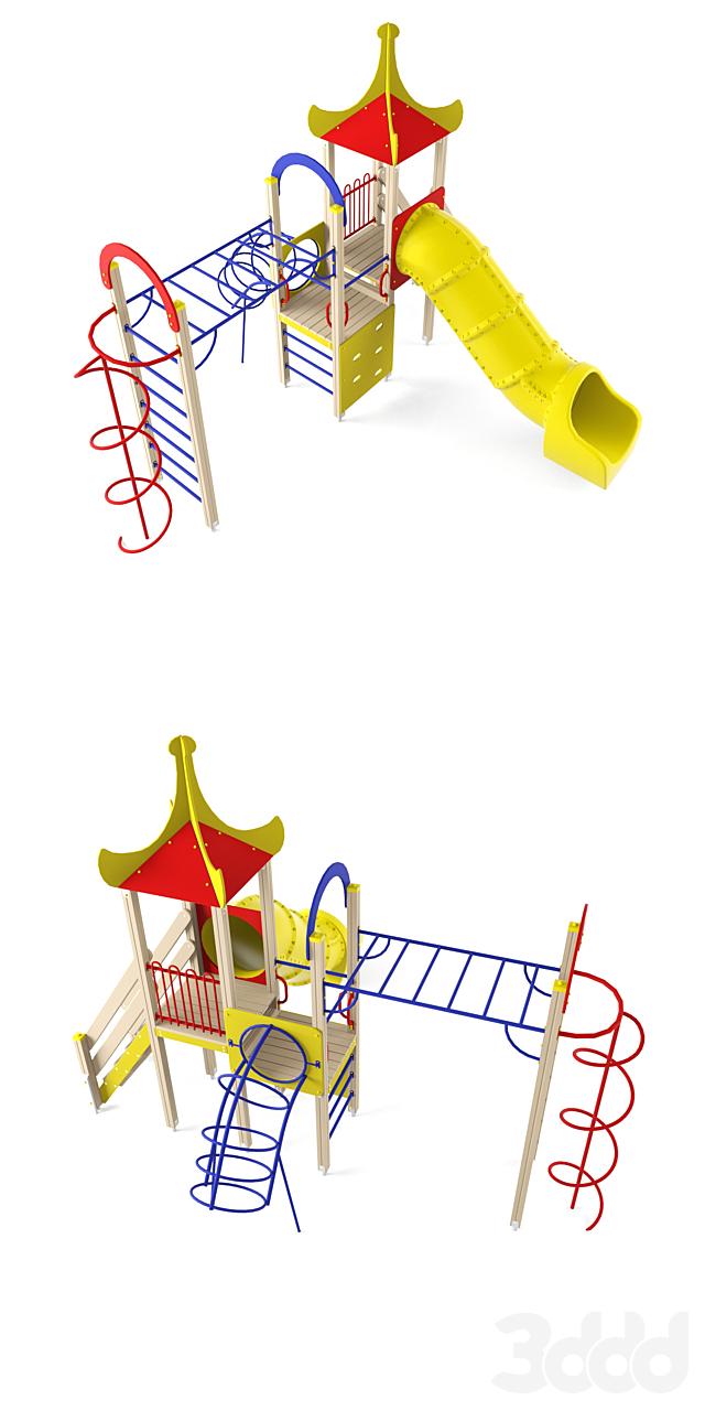 Детский игровой комплекс 23