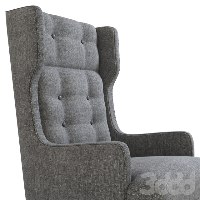 Idol Wing Chair Soot
