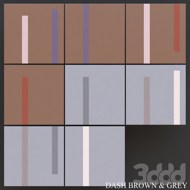 Peronda Dash Brown & Grey