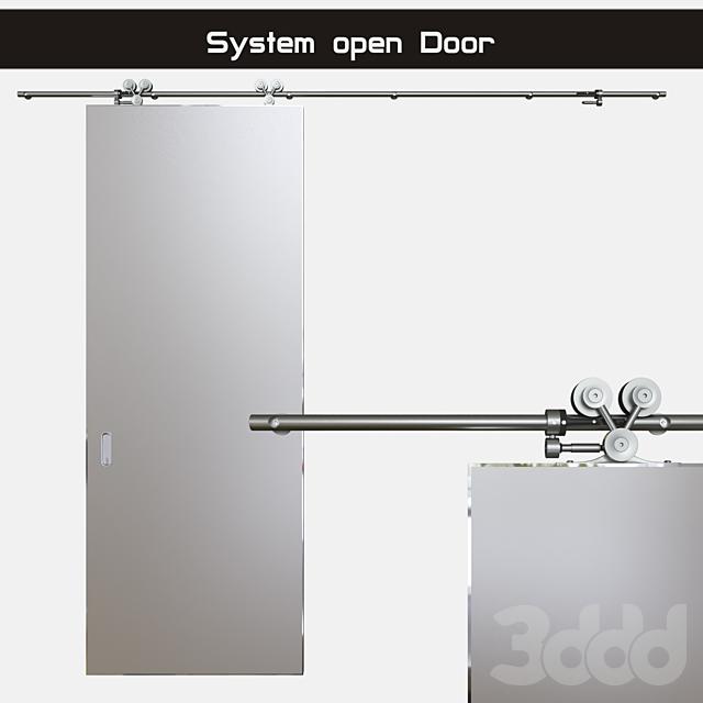 """Система открывания дверей """"Exterus"""" (раздвижная система)"""